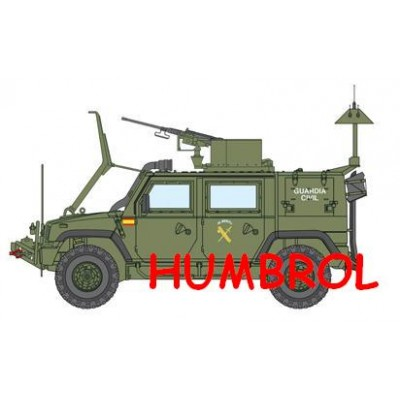 SET DE COLORES LINCE GUARDIA CIVIL (Humbrol)