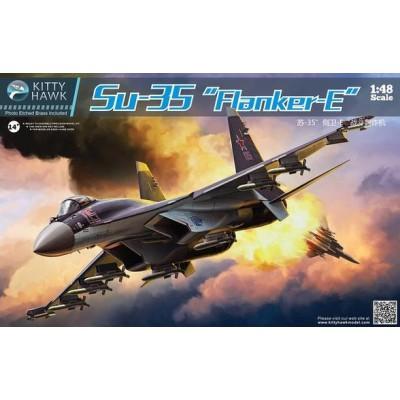 SUKHOI SU-35 FLANKER E - Kitty Hawk 80142