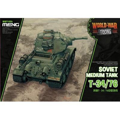 CARRO DE COMBATE T-34/76 -TOONS- Meng Model WWT-006