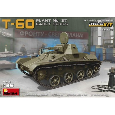 CARRO DE COMBATE T-60 PLANT No.37 EARLY - MiniArt Model 35224
