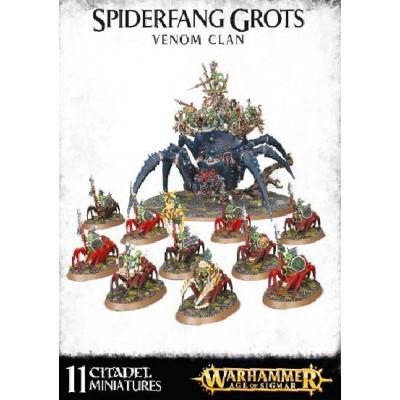 SPIDERFANG GROTS VENOM CLAN - GAMES WORKSHOP 89-32