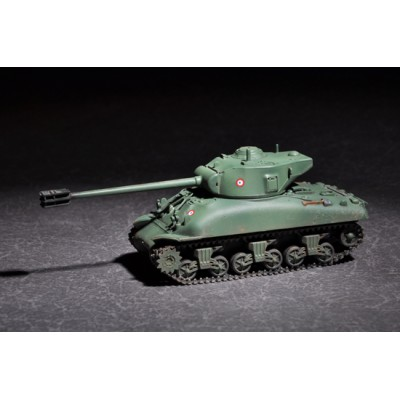 CARRO DE COMBATE M-4 A1 SHERMAN (FRENCH M4) - Trumpeter 07169