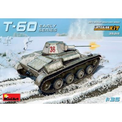 CARRO DE COMBATE T-60 EARLY - MiniArt Model 35215