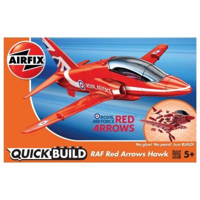 QUICKBUILD: RAF RED ARROWS HAWK - Airfix J6018