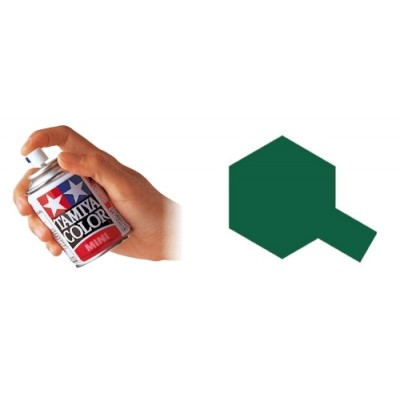 SPRAY ESMALTE BRITISH GREEN TS-09 (100 ml) - Tamiya TS-9