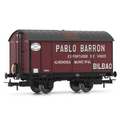 VAGON FUDRE NORTE PABLO BARRON - ELECTROTREN 19028