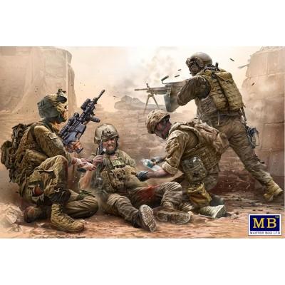 Modern Wars: INFANTERIA USA BAJO FUEGO - Master Box 35193