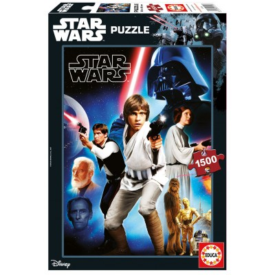 PUZZLE 1500PZS STAR WARS EPISODIO IV - EDUCA 17126