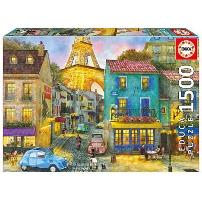 PUZZLE 1500PZS CALLES DE PARIS - EDUCA 17122