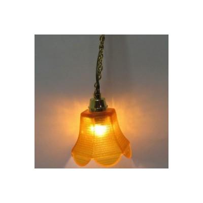 LAMPARA TECHO COLOR MIEL