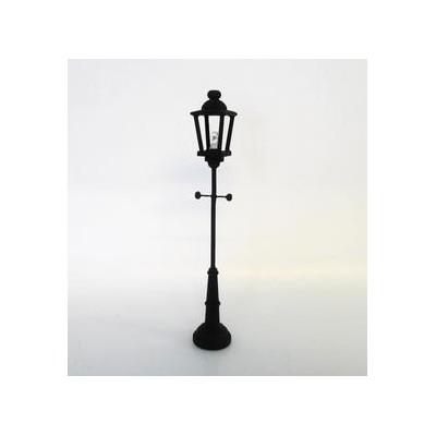 Farola negra de jardin sin cable precisa pila cr1632 de 3v no incluida - Iluminacion jardin sin cables ...