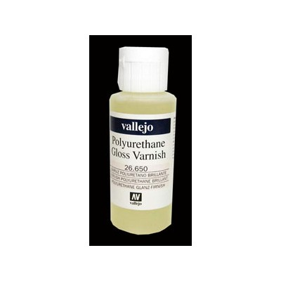 BARNIZ BRILLANTE POLIURETANO 60ML - VALLEJO 26650