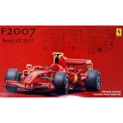 FERRARI F1 F2007 BRASIL GP 2007 ESCALA 1/20 - FUJIMI 090481