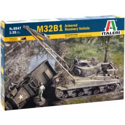 CARRO DE RECUPERACION M-32 B1 SHERMAN ARV 1/35 - Italeri 6547