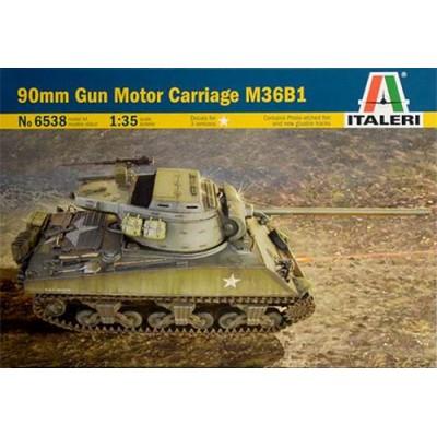 DESTRUCTOR DE CARROS M-36 B1 JACKSON (90 mm) - ITALERI 6538