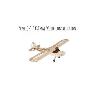 KIT AVIONETA PIPER J-3 (1180 mm) - Dancing Wings Hobby