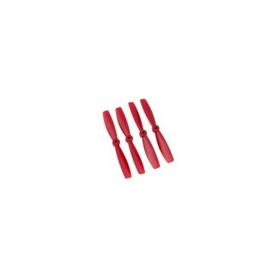 SET 4 HELICES BIPALAS 5 x 4,5 (normal + invertida) ROJA - Gemfan 3988