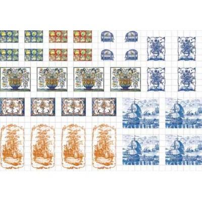 AZULEJOS DECORADOS - Euro Minis EM4516