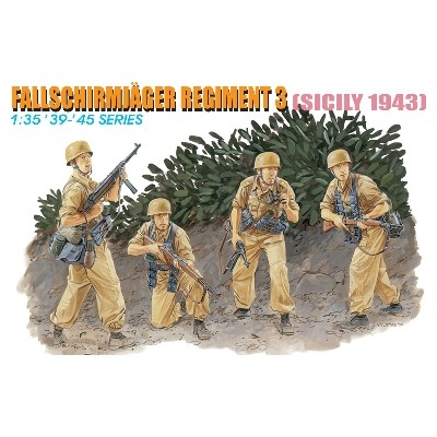 FALLSCHIRMJAGER REGIMENT 3 (Sicilia 1943)