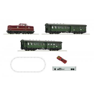 EQUIPO INICIACION DIGITAL: Locomotora BR280 & COCHES VIAJEROS - ROCO 51295