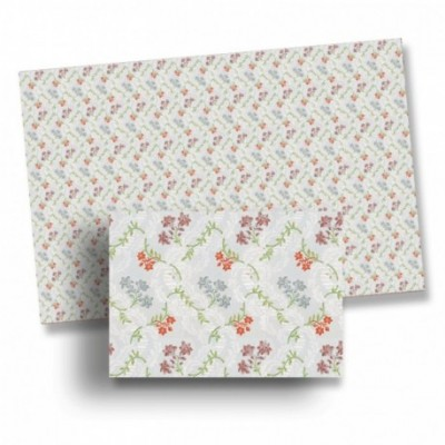 PAPEL PARED FLORES (490 x 270 mm) - Disacc Maquett 34501