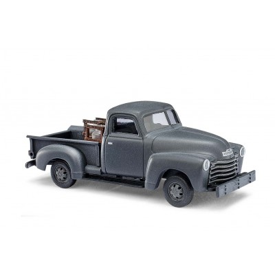 CAMIONETA CHEVY PICK UP GRIS - BUSCH 48236