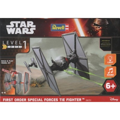 Star Wars: FIRST ORDER SPECIAL FORCES TIE FIGHTER - Revell 06751