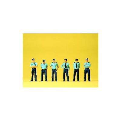 GENDARMES FRANCESES HO (6 figuras) - PREISER 25108