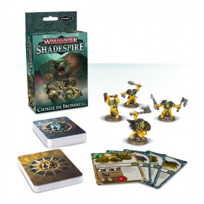 SHADESPIRE : CHIKOZ DE IRONSKULL - GAMESWORKSHOP 110-03-03