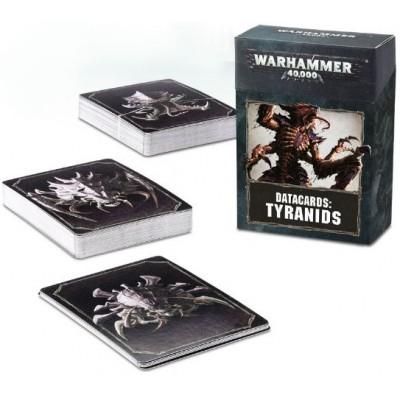 DATACARDS:TIRANIDOS - GAMES WORKSHOP 51-02