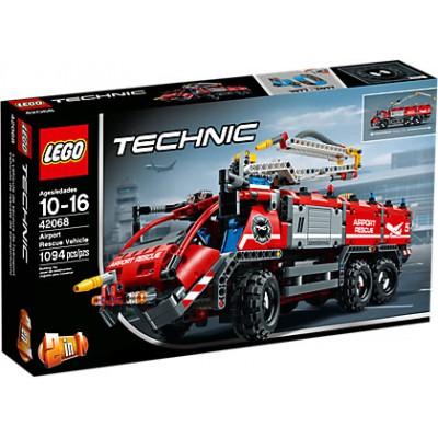 CAMION DE RESCATE DE AEROPUERTO - LEGO 42068
