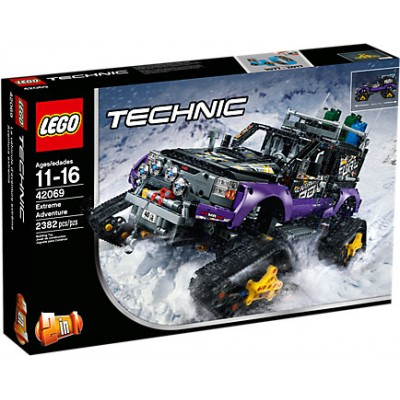 VEHICULO AVENTURA EXTREMA - LEGO 42068