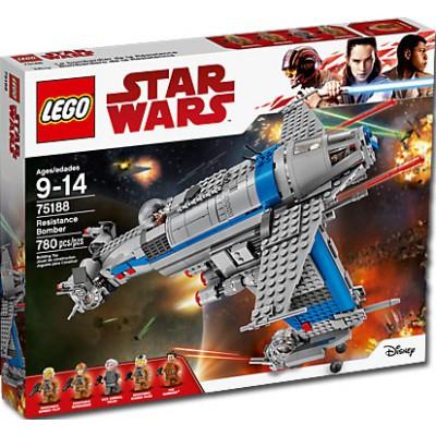 OFERTA STAR WARS BOMBARDERO DE LA RESISTENCIA - LEGO 75188