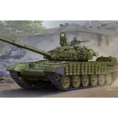 CARRO DE COMBATE T-72 B/B1 (Kontakt-1 reactive armor) - Trumpeter 05599