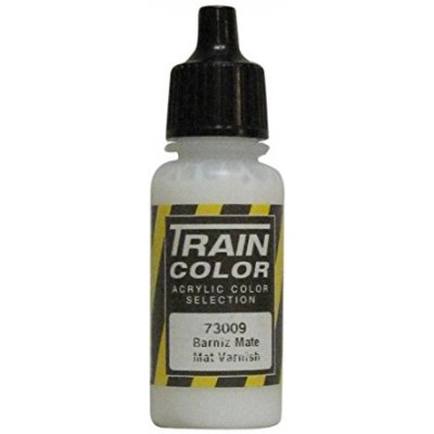 PINTURA ACRILICA BARNIZ MATE (17 ml) TRAIN COLOR