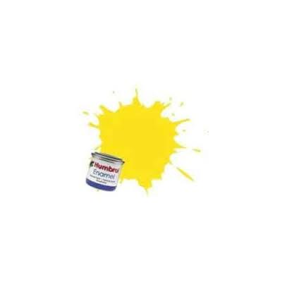 PINTURA ESMALTE AMARILLO SATURNO MATE (14 ml)