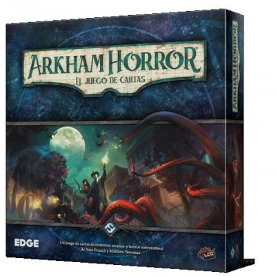 ARKHAM HORROR JUEGO DE CARTAS - FANTASY FLIGHT FFAHC01