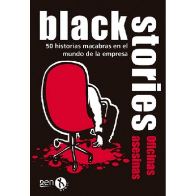 BLACK STORIES EDICION OFICINAS ASESINAS- GENX GAMES BS28