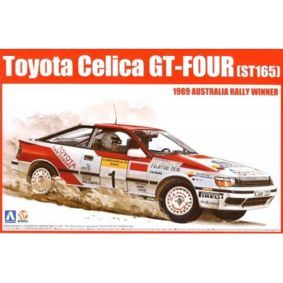 TOYOTA CELICA GT-FOUR (ST165) 1989 Australian Rally Winner 1/24 - Aoshima 081198