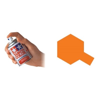 SPRAY POLICARBONATO TAMIYA NARANJA (100 ml) PS-07 - Tamiya PS07
