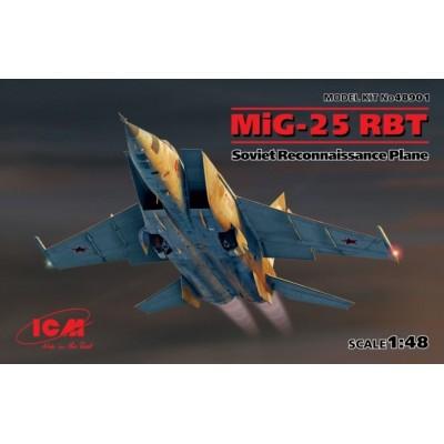 MIKOYAN GUREVICH MIG-25 RBT - ICM 48901