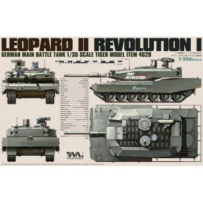 CARRO DE COMBATE LEOPARD II -Revolution I- Tiger Model 4629