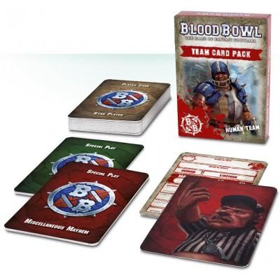 HUMAN TEAM CARD PACK ESPAÑOL - GAMES WORKSHOP 200-33-03