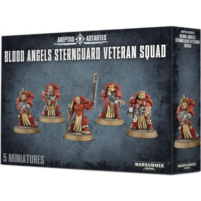 BLOOD ANGELS STERNGUARD VETERAN SQUAD - GAMES WORKSHOP 41-20