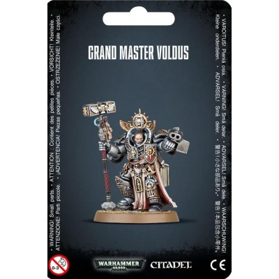 GREY KNIGHTS GRAND MASTER VOLDUS - GAMES WORKSHOP 57-11