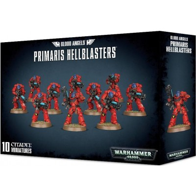 BLOOD ANGELS PRIMARIS HELLBLASTERS - GAMES WORKSHOP 41-28