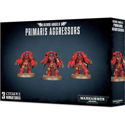 BLOOD ANGELS PRIMARIS AGRESSORS - GAMES WORKSHOP 41-29