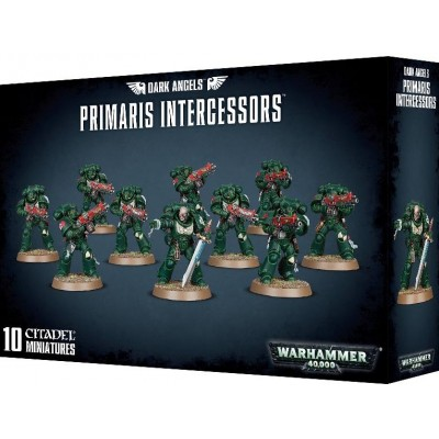 DARK ANGELS PRIMARIS INTERCESSORS - GAMES WORKSHOP 44-72