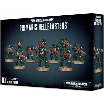 DARK ANGELS PRIMARIS HELLBLASTERS - GAMES WORKSHOP 44-73