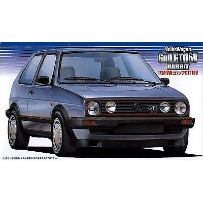 VOLKSWAGEN GOLF GTI 16 V Rabbit 1/24 - Fujimi 12498